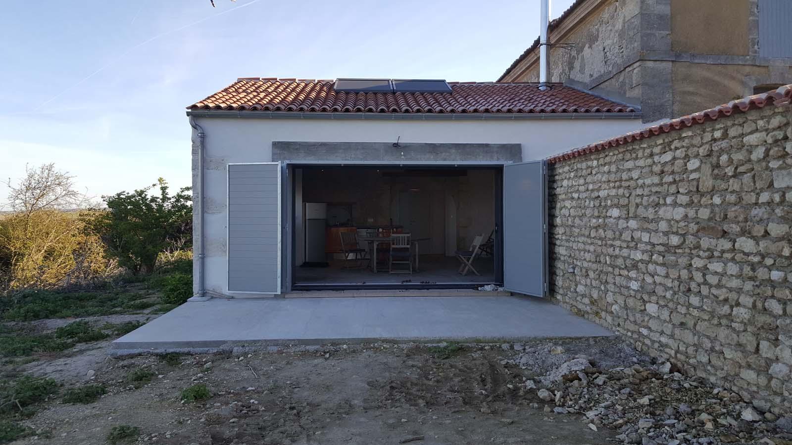 Réhabilitation D Une Grange En Habitation réhabilitation d'une grange en habitation à barzan - archi'textures